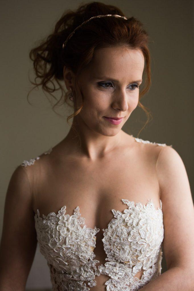 Penteado de noiva elegante