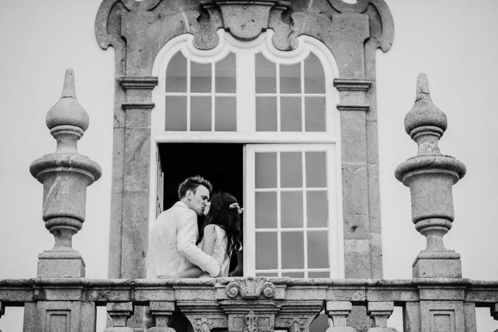 Emoção num casamento do Palácio do Freixo