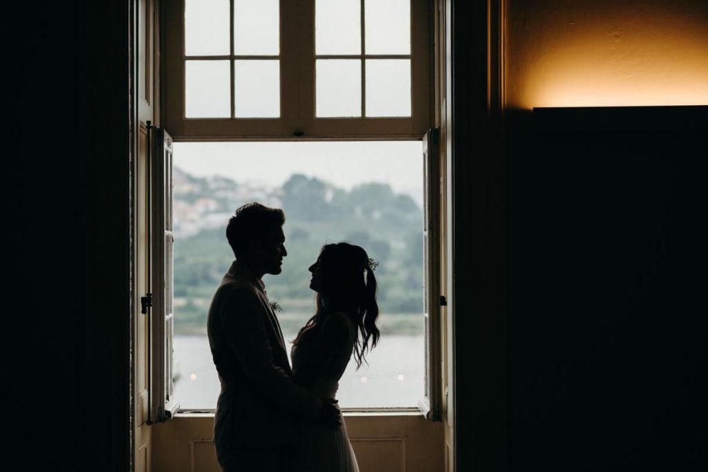 um feliz casamento no Palácio do Freixo